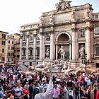 Fontana di Trevi II by Eyal Geiger