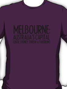 MELBOURNE - SYDNEY TANTRUM T-Shirt