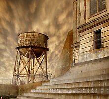 Alcatraz exercise yard 2008 by Cliff Vestergaard