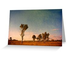 Australiana Greeting Card