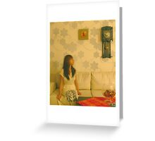 Time Is Moving Too Fast Greeting Card