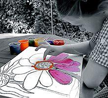 """Creation of Colour"" by Bradley Shawn  Rabon"