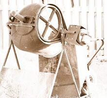 Cement Mixer © Vicki Ferrari by Vicki Ferrari