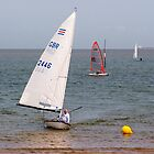 Sailing in Minnis Bay by Geoff Carpenter