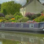 Narrowboat Herbie - Buckby Flight by SimplyScene