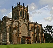 Milton Abbey Church by RedHillDigital