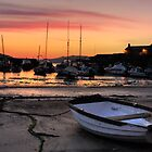 Sunrise over Lyme Regis Harbour by Rob Lodge