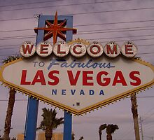Las Vegas Sign by TabithaPayne