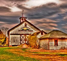 Storm Clouds Over Sunrise Farm  by Bill Manocchio