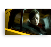 Taxi Home 01 Canvas Print