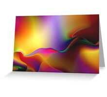 Gyrate...........( Dance of the Aura's) Greeting Card