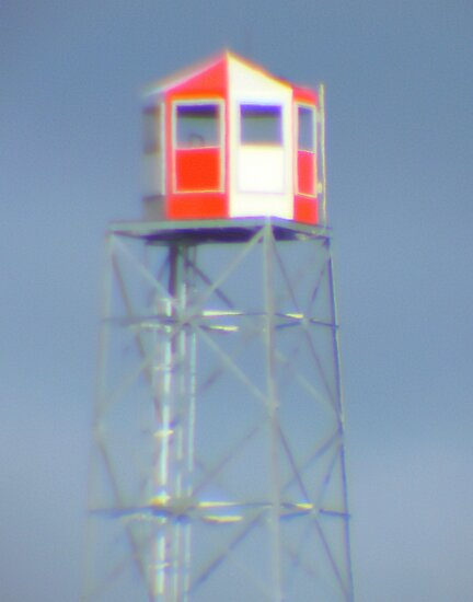 Fire Lookout Tower by MaeBelle