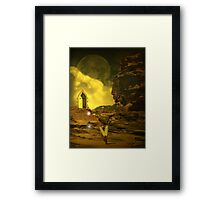 Angel Of The Shore Final series 11 Framed Print