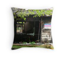 Arson #1 Throw Pillow