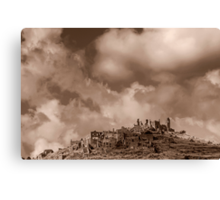 Ruins of Cirella Canvas Print