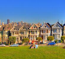 """San Francisco """"Painted Ladies"""" by Paul J. Owen"""