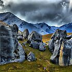 Castle Hill Rocks by johngs