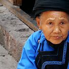 Miao JIa Old Woman by AmelieatMacao