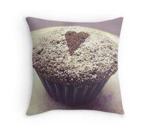 I heart cupcakes Throw Pillow