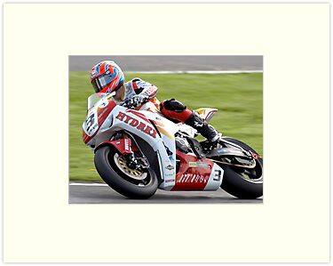 Stuart Easton - British Superbikes by Ann-Marie Metcalfe