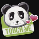 Touch Me Panda Tee by Tiffany Atkin