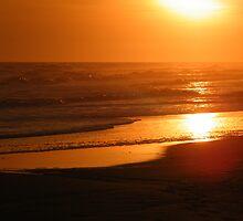 Ocean Sunset by Amanda Bunch