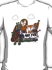 The story of owl and fox T-Shirt