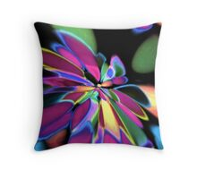 out of the night Throw Pillow