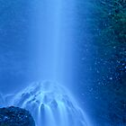 Blue Misty Falls by BrightWorld
