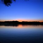 Tweed River Sunset by Nickie