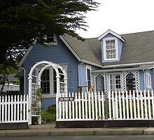 Coastal California Cottage by LindaJBazor