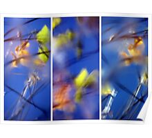Beyond Blue - Triptych Poster
