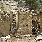run down old house or building by janetmarston