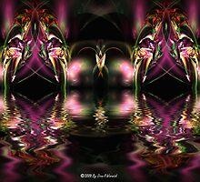 Purple Reflections by Dean Warwick