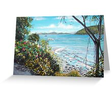 Long Island, Australia Greeting Card
