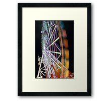 Blur. Framed Print