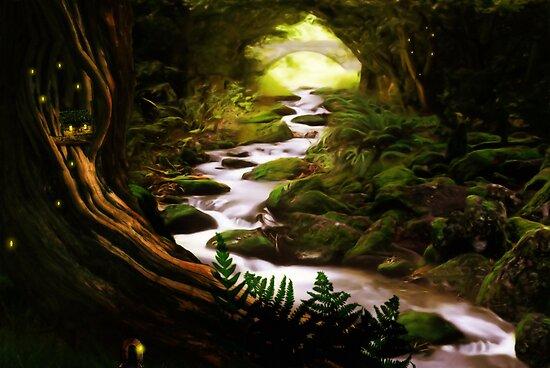 Afon ardu by John Edwards