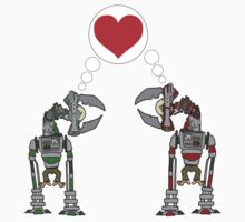 Robot Love by MuscularTeeth