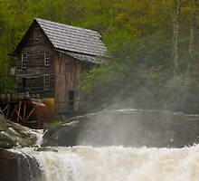 Glade Creek Grist Mill II by KSkinner