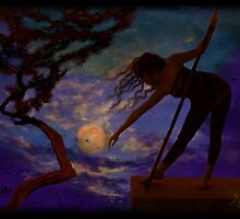 LUNAR YEARNING by DALE CRUM