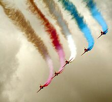 Red Arrows by Michelle Welch