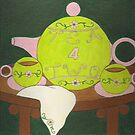 Tea 4 Two ~ Tennis by Paula Parker