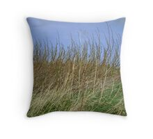 the march of vegetation Throw Pillow