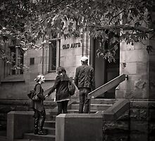 On Campus by Christine  Wilson Photography