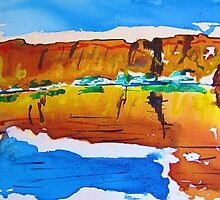 Outback reflections  by gillsart