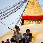 Buddha Jayanti Boy by Rene Edde