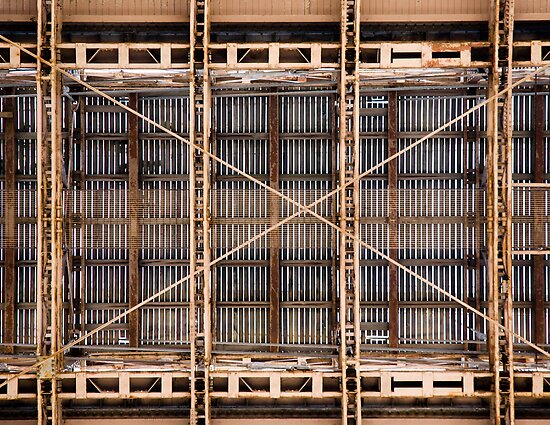 Brooklyn Bridge Detail by Jetou