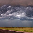 Shelf Cloud Panorama by Jeremy  Jones