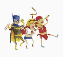 Superhero Girls! by deanbeattie