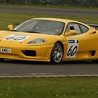 Keith Sprules, Ferrari 360 by MSport-Images